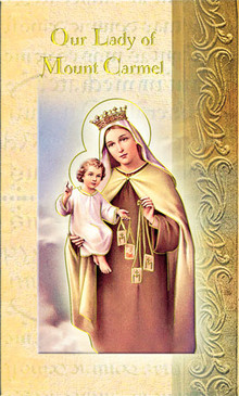 Our Lady of Mount Carmel Biography Card