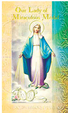 Our Lady of the Miraculous Medal Biography Card