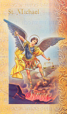 St. Michael the Archangel Biography Card