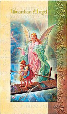 Guardian Angel Biography Card