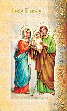 Holy Family Biography Card