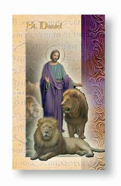 St. Daniel Biography Card