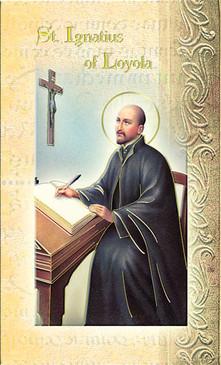 St. Ignatius Loyola Biography Card