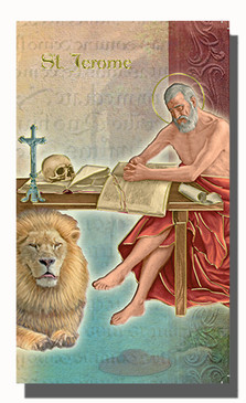 St. Jerome Biography Card