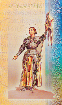 St. Joan of Arc Biography Card
