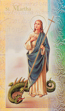 St. Martha Biography Card