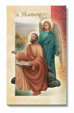 St. Matthew the Apostle Biography Card