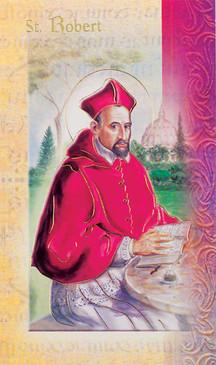 St. Robert Biography Card