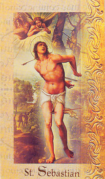 St. Sebastian Biography Card