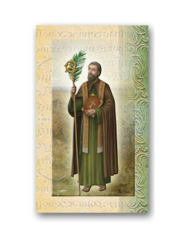 St. Timothy Biography Card
