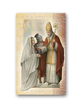Saint Valentine Biography Card