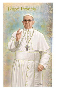 Pope Francis Biography Card