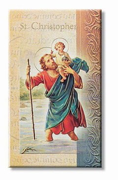 St. Christopher Biography Card