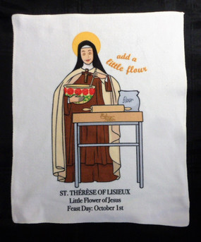 St. Therese Kitchen Towel