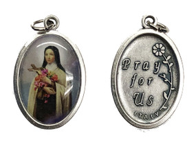 St. Therese Medal - color