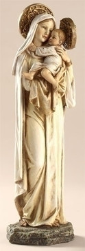 """Mater Amabilis (Mother Most Amiable) Statue (10.5"""")"""