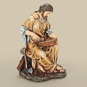 "Carpenter Statue (10.25"")"