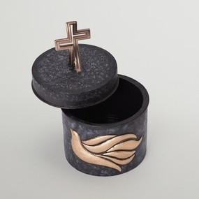Crossfish Confirmation Rosary or Keepsake Box