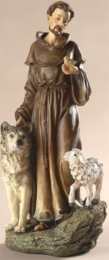 "St. Francis of Assisi Statue (9.75"")"