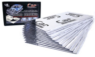 CAR BUILDERS Sound Deadener 500mm x 300mm (12 sheets) SILVER