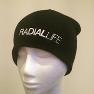 RADIAL LIFE Black Beanie