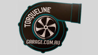 "TLG New Gen Style 3.5"" Turbo Sticker TEAL"