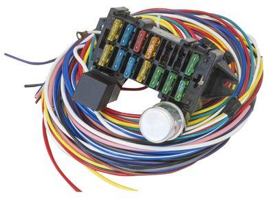 proflow 12 circuit universal wiring harness kit. Black Bedroom Furniture Sets. Home Design Ideas