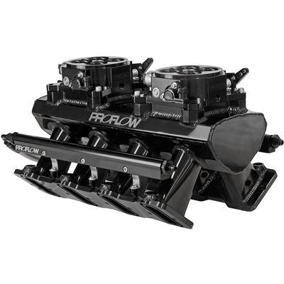 PROFLOW GM LS1/2/6 EFI Twin Throttle Body Style Intake ...