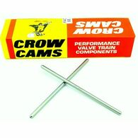 "CROW CAMS Superduty Pushrods (1 Piece 0.080'' Wall Heat Treated High Carbon Steel) 6.050''- 6.450"" Length"