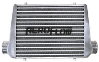 """AEROFLOW Aluminium Intercooler 450x300x76mm with 3"""" Inlet/Outlets - Raw"""