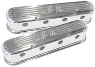 AEROFLOW Billet Retro Valve Covers suit GM LS Series - POLISHED