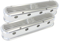 AEROFLOW Billet Retro Valve Covers suit GM LS Series - SILVER