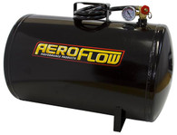 AEROFLOW 10 Gallon Steel Portable Air Tank - Black (125 PSI Max)