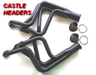 CASTLE HEADERS - HQ-WB Small Block Chevrolet 4 into 1 DESIGN - CH28A