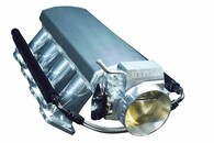 TLG GM LS1/2 Cathedral Port Sheet Metal Intake & 102mm T/B - BLACK