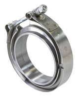 """AEROFLOW 3-1/2"""" V-Band Clamp Kit - STAINLESS STEEL"""