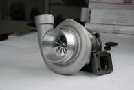 TLG GTX35 66mm Billet Race Turbocharger - .70AR Front, 1.15AR Rear INTERNAL WASTEGATE