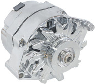 AEROFLOW 100A 1/3 Wire GM Style Alternator  - CHROME