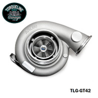 TLG GT42 Turbocharger - .60AR Front, 1.05AR Rear EXTERNAL WASTEGATE