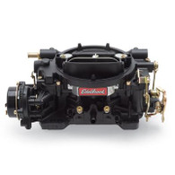 EDELBROCK 600CFM Performer Series Carburetor Electric Choke BLACK