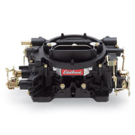 EDELBROCK 600CFM Performer Series Carburetor Manual Choke BLACK