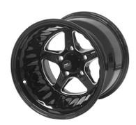STREET PRO II Ford 5x114.3 - 15x12  / 5.0' Back Space Black Wheel