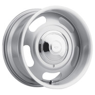 "AMERICAN LEGEND Cruiser Silver wheel - 17x8 with 4-1/2"" Backspace GM"