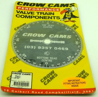 "CROW CAMS 8"" Camshaft Degree wheel"