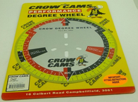 "CROW CAMS 11"" Camshaft Degree wheel"
