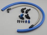 TLG Turbo Oil Feed Line Kit - Toyota 1/2JZ with Single turbo conversion