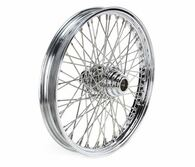 "ATTITUDE INC 60 Spoke Wire Wheel - Suits Harley FXST 2000-2005 - 21"" x 2.15"" - Chrome"
