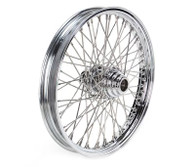 "ATTITUDE INC 60 Spoke Wire Wheel - Suits Harley - 18"" x 5.5"" - Chrome"