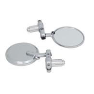 TLG Universal Bar-end Mirrors - Chrome
