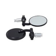 TLG Universal Bar-end Mirrors - Black
